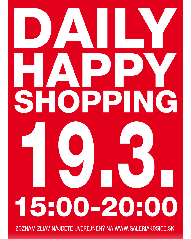 DAILY HAPPY SHOPPING